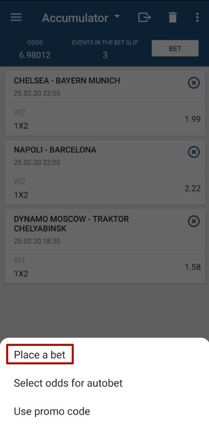 1xbet accumulator bet 10