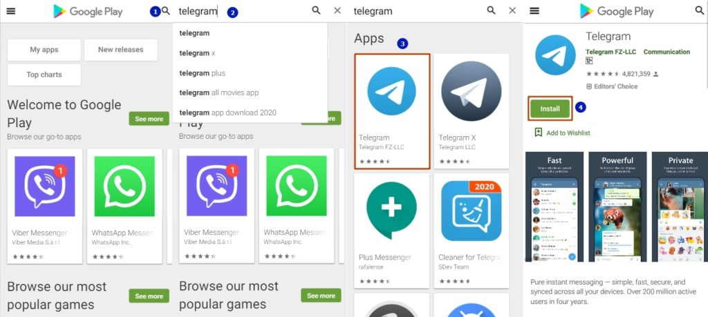 telegram-install
